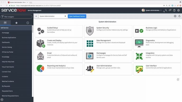 servicenow project support  benchteq